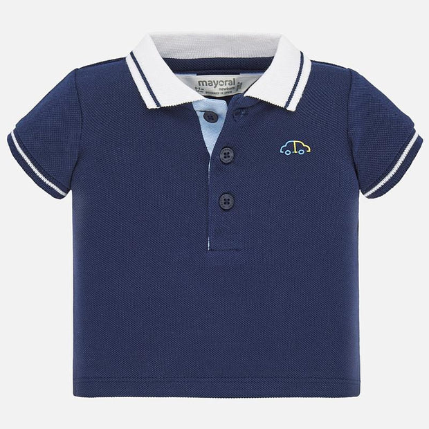 Mayoral Basic Polo Short Sleeve Shirt
