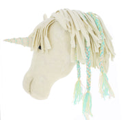 Fiona Walker Semi Felt Animal Head Opal Unicorn