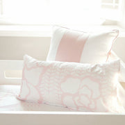 "Oilo Capri Blush Pillow 12"" x 24"""
