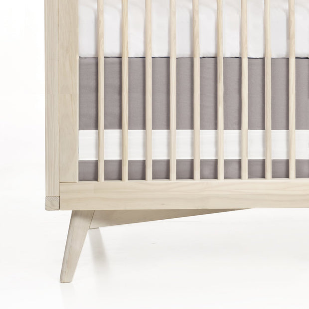 Oilo Crib Skirt Dove