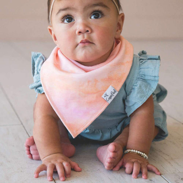 Copper Pearl Baby Bandana Bibs - Autumn
