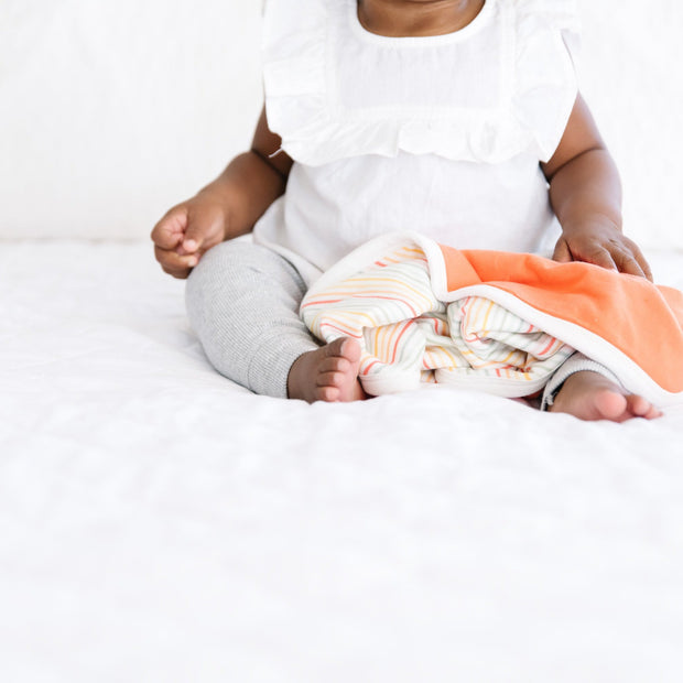 Copper Pearl Three-Layer Security Blanket Set | Rainee