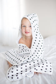 Muslin Hooded Towel - Smitten - Copper Pearl - 5