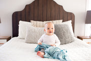 Copper Pearl Knit Swaddle Blanket - Sonny Set of 2
