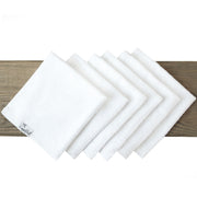 6 Bamboo Wash Cloths - White - Copper Pearl - 1