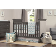 DaVinci Lila 3-in-1 Upholstered Convertible Crib