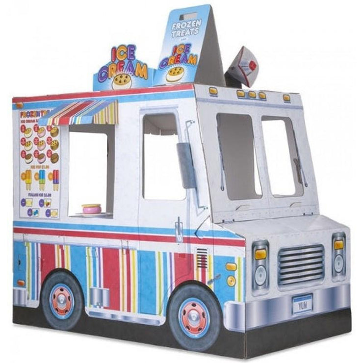 Melissa & Doug Food Truck Indoor Playhouse