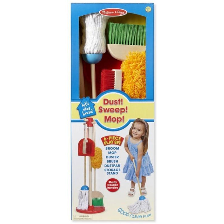 Melissa & Doug Dust! Sweep! Mop! Set