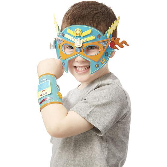 Melissa & Doug Simply Crafty Superhero Masks & Cuffs
