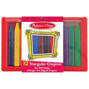 Melissa & Doug 12 Triangular Crayons
