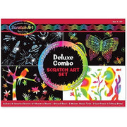 Melissa & Doug Scratch Art Deluxe Combo Set