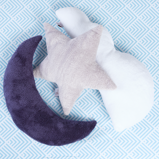 Oilo Indigo Moon Pillow
