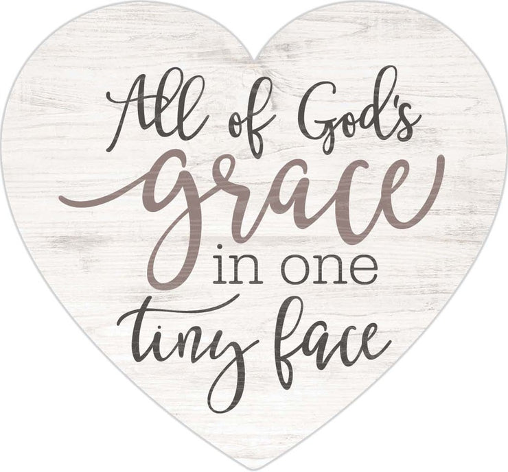 All Of God's Grace Plaque