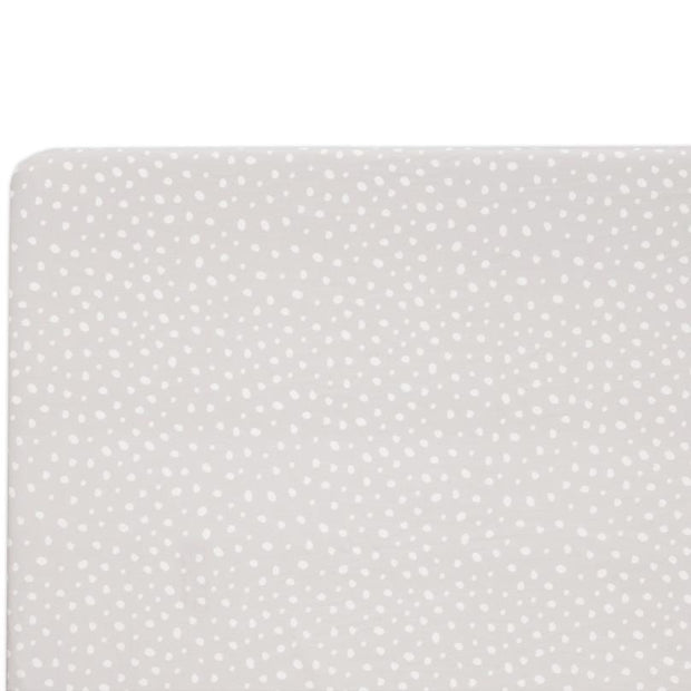 Babyletto Tuxedo Dots Fitted Crib Sheet