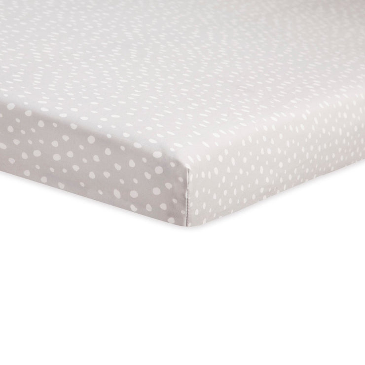 Babyletto Tuxedo Dots Mini Crib Sheet