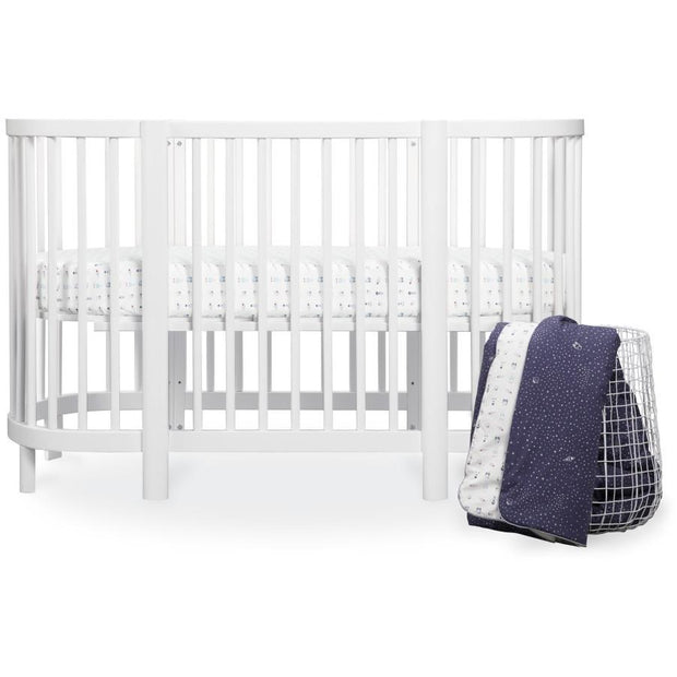Babyletto Galaxy Oval Fitted Crib Sheet