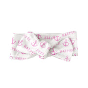 Sugar + Maple Bow  - Anchor Pink
