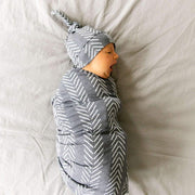 Copper Pearl Knit Swaddle Blanket | Canyon