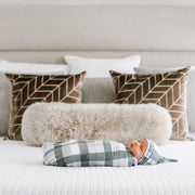 Copper Pearl Knit Swaddle Blanket - Hudson