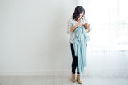 Knit Swaddle Blanket - Sonny Single - Copper Pearl - 5