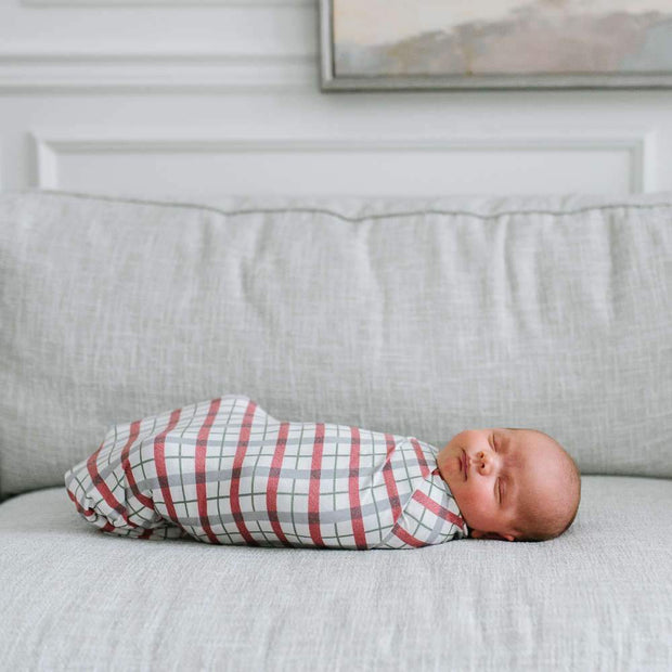 Copper Pearl Knit Swaddle Blanket - Jolly