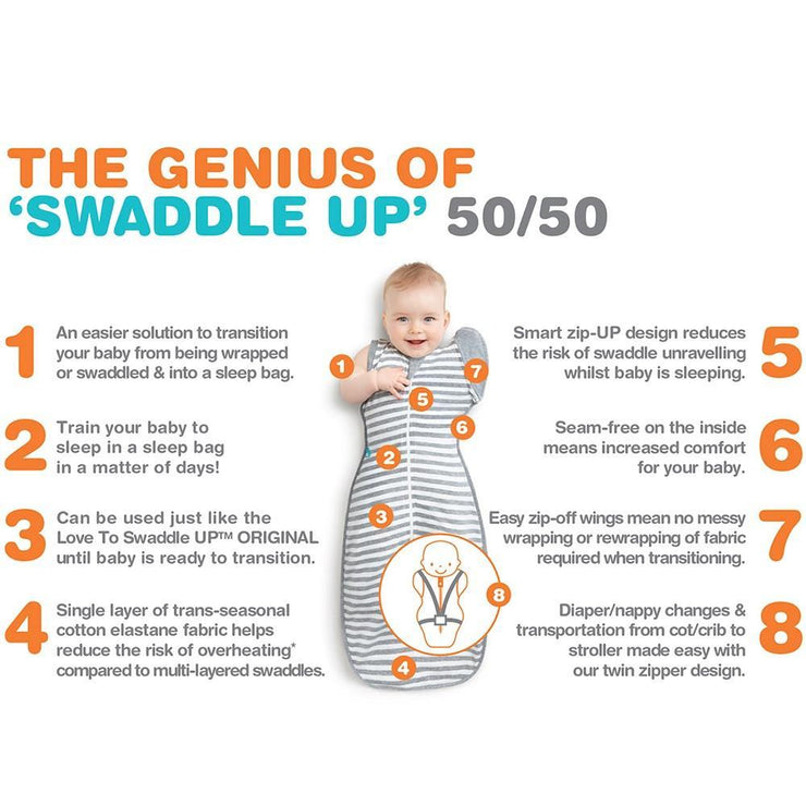 Love To Dream Swaddle Up 50/50
