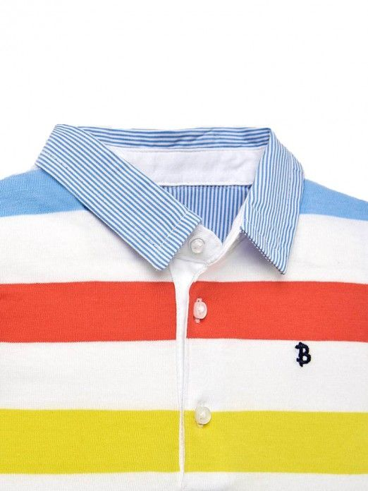 Mayoral Polo Shirt Multicolor