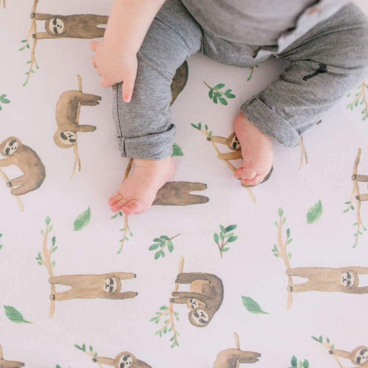 Copper Pearl Premium Crib Sheet - Noah