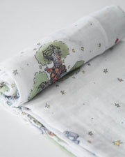 Little Unicorn Little Prince Cotton Muslin Swaddle Single - The Little Prince