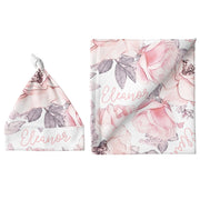 Sugar + Maple Small Blanket & Hat Set - Wallpaper Floral