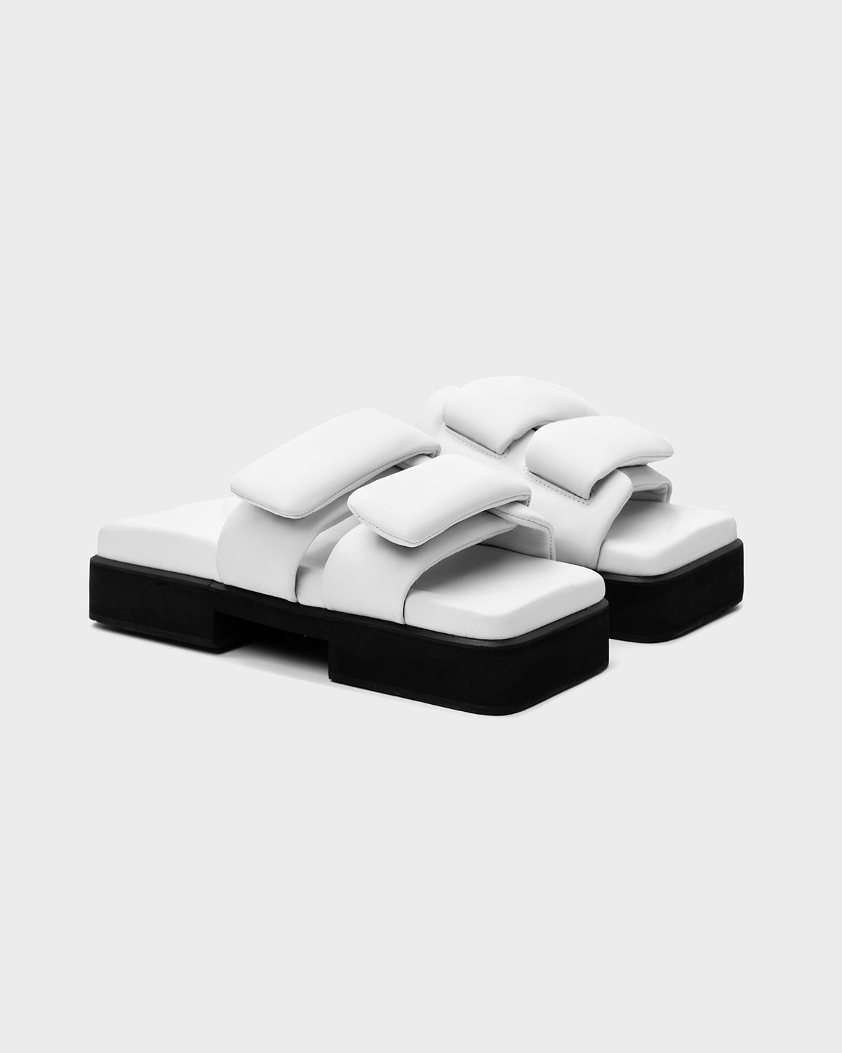 VELCRO DOUBLE SOLE WHITE - SINOBI