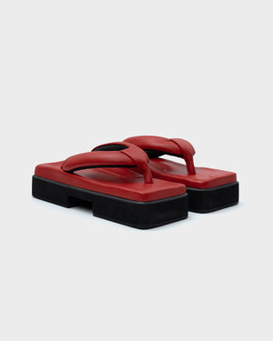CLASSIC DOUBLE SOLE RED - SINOBI