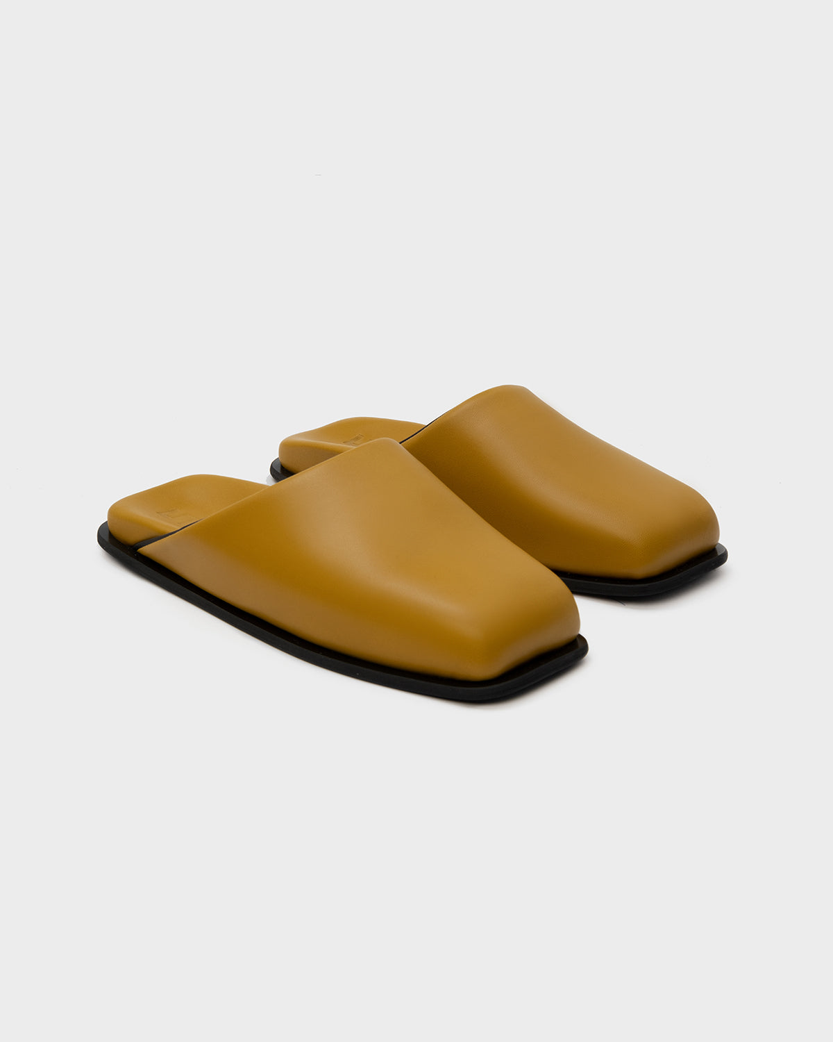 MULES SINGLE SOLE OCHRE - SINOBI