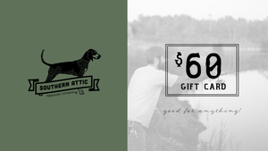 Gift Cards - Southern shirts company attic