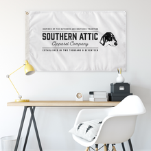 Load image into Gallery viewer, Southern Attic Text Flag - Southern shirts company attic