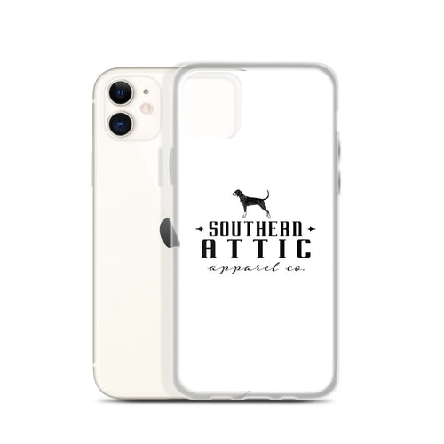 White Background iPhone Case - Southern shirts company attic