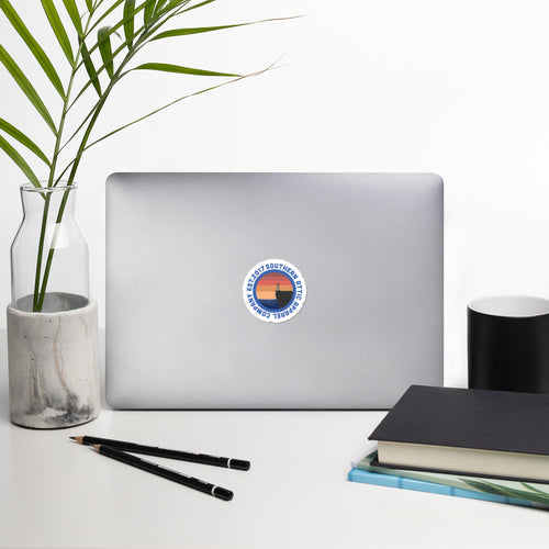 Maritime Sunset Sticker - Southern Attic Apparel