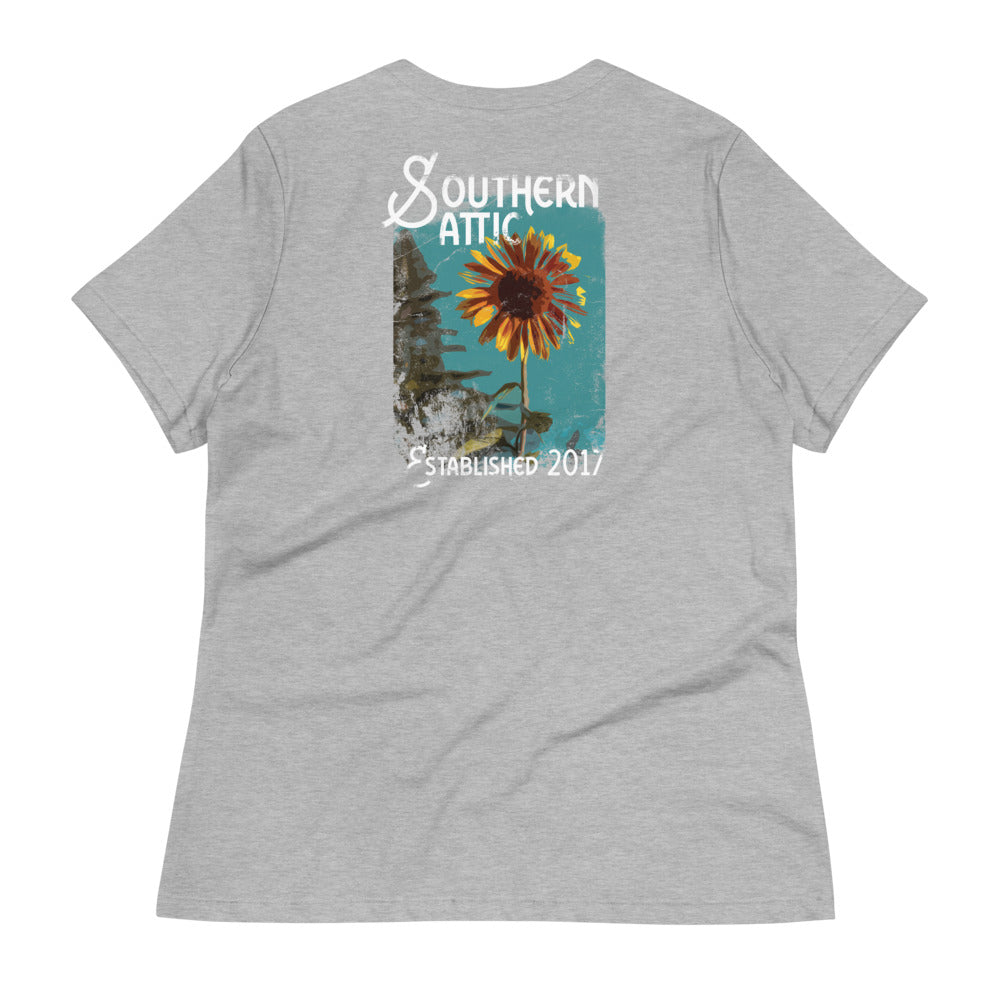 Sunflower Tee - Southern shirts company attic