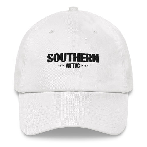 Slouithern Attic Dad Hat - Southern shirts company attic