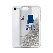 Load image into Gallery viewer, 'Bama Liquid Glitter iPhone Case - Southern shirts company attic