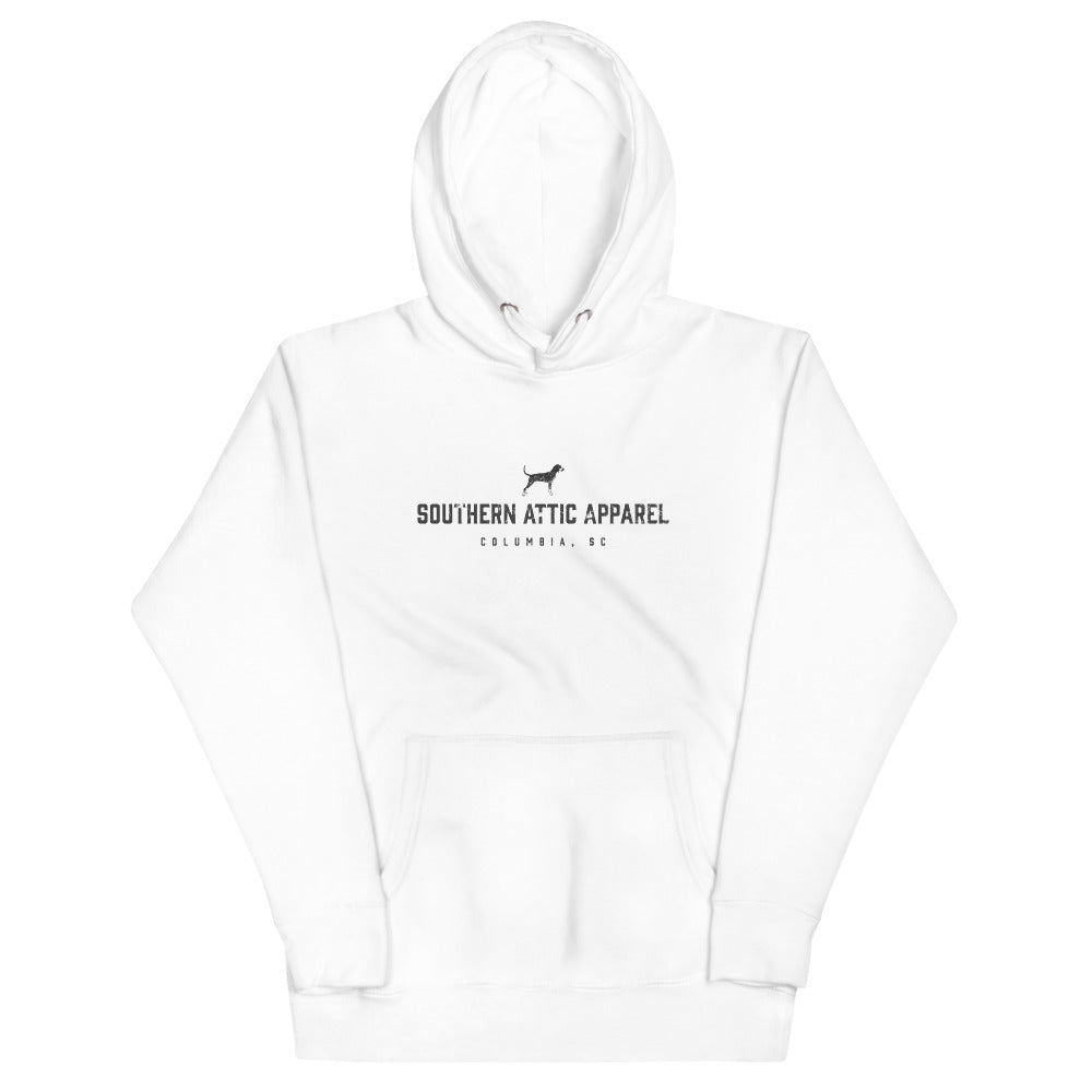 Front Text Logo Hoodie - Southern shirts company attic