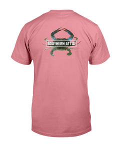 Blue Crab Tee - Southern shirts company attic