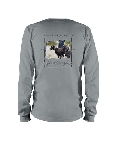 Double Team Long sleeve - Southern Attic Apparel
