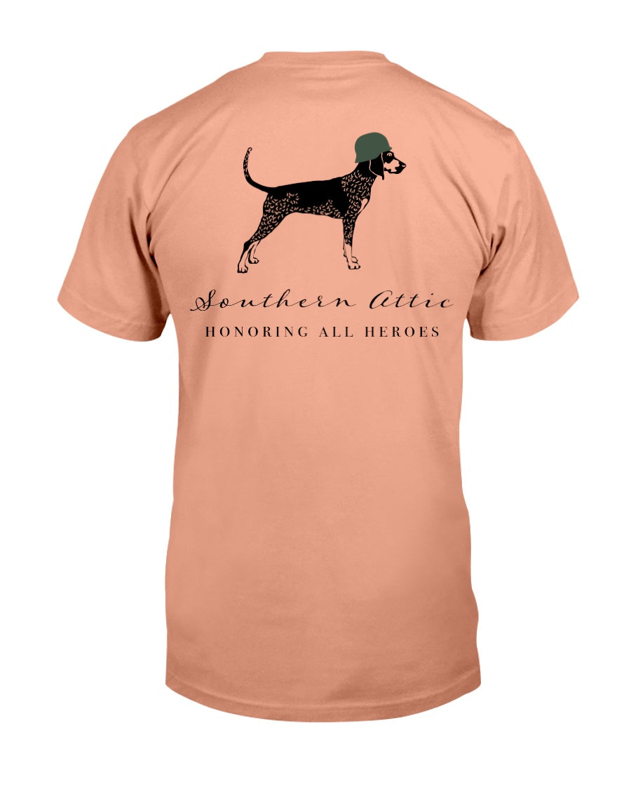 Honor Our Heroes - Southern shirts company attic