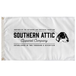 Southern Attic Text Flag - Southern shirts company attic