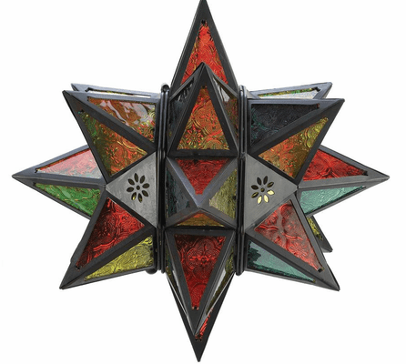 BOutdoors™ Moroccan-Style Star Candle Lantern