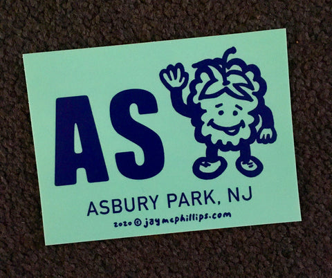AS Berry Bumper Sticker by Jay McPhillips