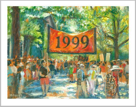 Limited Edition Princeton Class of 1999 Reunions Print