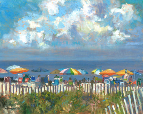 """New Jersey Shore with Beach Grass"" Giclee print by James McPhillips"