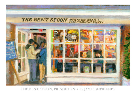 Signed The Bent Spoon Art Poster by James McPhillips